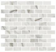 MM13105 Буонарроти белый мозаичный 32*30 декор