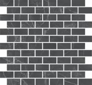 MM13106 Буонарроти серый темный мозаичный 32*30 декор