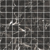 Мозаика керамическая BLACK & WHITE Black 30х30 см