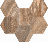 Мозаика SP 02 Hexagon 25x28.5 неполированная
