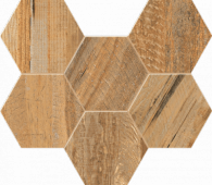 Мозаика SP04 Hexagon 25x28.5 неполированная