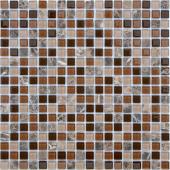 Мозаика CARAMELLE Naturelle Andorra 30,5x30,5х0,4 см (чип 15x15x4 мм)