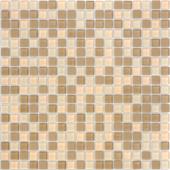 Мозаика CARAMELLE Naturelle Enisey 30,5x30,5х0,4 см (чип 15x15x4 мм)