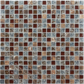 Мозаика CARAMELLE Naturelle Fiji 30,5x30,5х0,8 см (чип 15x15x8 мм)
