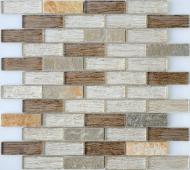 Мозаика LeeDo Naturelle Onega 29,8x29,8x0,8 см (чип 23х73х8 мм)