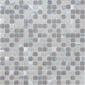 Мозаика CARAMELLE Naturelle Sitka 30,5x30,5х0,4 см (чип 15x15x4 мм)
