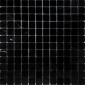Nero Oriente полированная 29,8x29,8х0,4 см (чип 23х23х4 мм)
