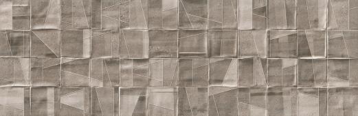 Плитка Meissen Keramik Nerina Slash  серый рельеф 29x89 NNS-WTA092