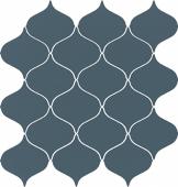 Мозаика чешуя Meissen Keramik Ocean Romance сатинированный морская волна 28,1x29,3 ONR-WIN131
