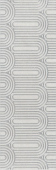 OP/A201/12136R Безана серый светлый обрезной 25*75 декор