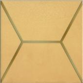 OP/B181/17064 Витраж желтый 15*15 декор