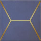 OP/C181/17065 Витраж синий 15*15 декор