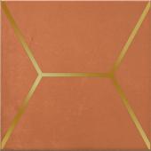 OP/D181/17066 Витраж оранжевый 15*15 декор