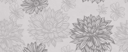 Osaka flower серый 50*20