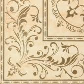 Palladio beige decor pg 01 45*45 керамогранит