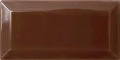 Плитка настенная Paris (Metro) Chocolate 7,5x15 см