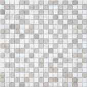 Мозаика LeeDo Pietrine Pietra Mix 2 матовая 30,5x30,5х0,4 см (чип 15x15x4 мм)