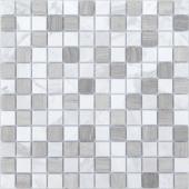 Мозаика CARAMELLE Pietrine Pietra Mix 2 матовая 29,8x29,8x0,4 см (чип 23x23x4 мм)