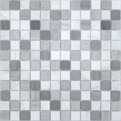 Мозаика CARAMELLE Pietrine Pietra Mix 3 матовая 29,8x29,8x0,4 см (чип 23x23x4 мм)