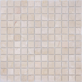 Мозаика LeeDo Pietrine Crema Marfil матовая 29,8x29,8x0,4 см (чип 23x48x4 мм)
