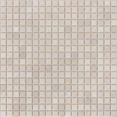 Мозаика LeeDo Pietrine Crema Marfil матовая 30,5x30,5х0,4 см (чип 15x15x4 мм)
