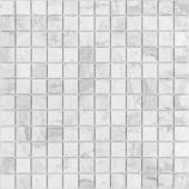 Мозаика CARAMELLE Pietrine Dolomiti Bianco матовая 29,8x29,8x0,4 см (чип 23x23x4 мм)