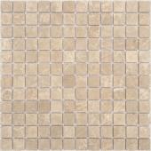 Мозаика CARAMELLE Pietrine Emperador Light матовая 29,8x29,8x0,4 см (чип 23x23x4 мм)