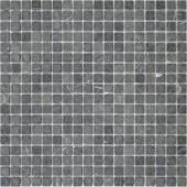Мозаика LeeDo Pietrine Nero Oriente матовая 30,5x30,5х0,4 см (чип 15x15x4 мм)