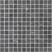 Мозаика LeeDo Pietrine Nero Oriente матовая 29,8x29,8x0,4 см (чип 23x23x4 мм)