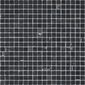 Мозаика LeeDo Pietrine Nero Oriente полированная 30,5x30,5х0,4 см (чип 15x15x4 мм)