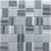 Мозаика LeeDo Pietrine Cristallino striato полированная 30,5x30,5x0,7 см (чип 48x48x7 мм)