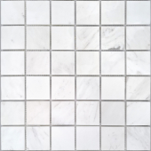 Мозаика LeeDo Pietrine Dolomiti bianco полированная 30,5x30,5x0,7 см (чип 48x48x7 мм)