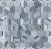 Мозаика LeeDo Pietrine Hexagonal Cristallino striato полированная 29,2x29,8х0,6 см (чип 23х40х6 мм)