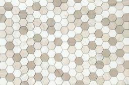 Мозаика LeeDo Pietrine Hexagonal Pietra Mix 3 матовая 28,5x30,5х0,6 см (чип 18х30х6 мм)
