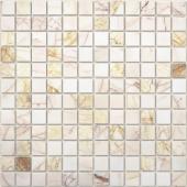 Мозаика CARAMELLE Pietrine Ragno Rosso полированная 29,8x29,8х0,7 см (чип 23х23х7 мм)