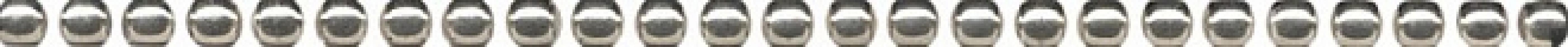 POD016 Карандаш Бисер платина 20*0.6 керамический бордюр