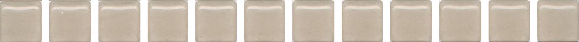 POF012 Карандаш Бисер бежевый 20*1.4 керамический бордюр