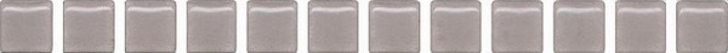 POF014 Карандаш Бисер серый матовый 20*1.4 керамический бордюр