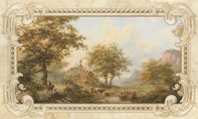 Rotterdam beige decor 03 30*50