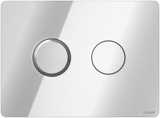 Кнопка ACCENTO CIRCLE, пневматическая, хром глянцевая