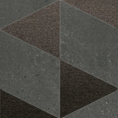 SBD045/SG1592 Матрикс антрацит 20*20 декор