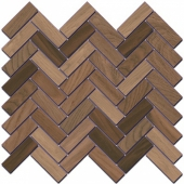 Декор Селект Вуд беж темный мозаичный 33*33