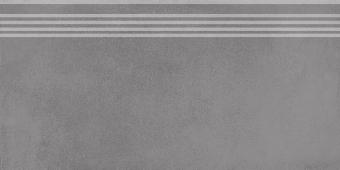Ступень Мирабо серый обрезной 30*60
