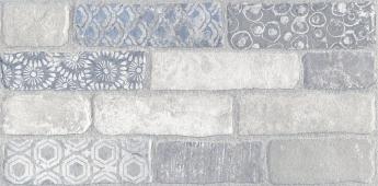 Кампалто белый декорированный обрезной 30*60