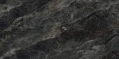 Риальто серый тёмный Декор правый лаппатированный 60*119,5