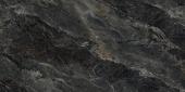 Риальто серый тёмный Декор левый лаппатированный 60*119,5