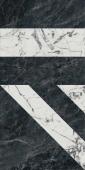 SG565402R Бьянко Неро белый черный лаппатированный 60*119.5 керамический гранит