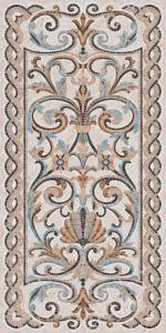 Ковер Мозаика беж декорированный лаппатированный 119,5*238,5