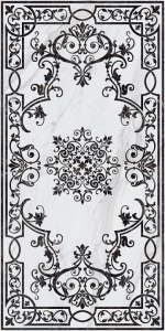 Ковер Монте Тиберио декорированный лаппатированный 119,5*238,5