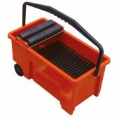 Скиппер LITOKOL - ведро с роликами для очистки плитки